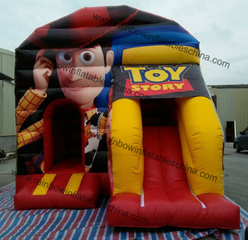 Inflatable Rainbiow Toy Story Bouncy Castle for Kids