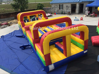 RB5067(10x3m)Inflatable rainbow new Design Obstacle Courses for Kids (RB5067)