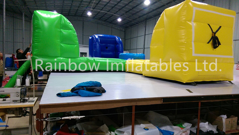 RB9122-1(8x8m) Inflatable sport game hungry hippos sport game