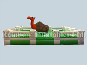 RB9124-7(5x5m)Inflatable Orange Camel With Mattress Game For Sale