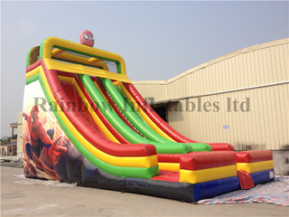 High Quality Commercial Inflatable Dry Slide Double Lanes for Sale