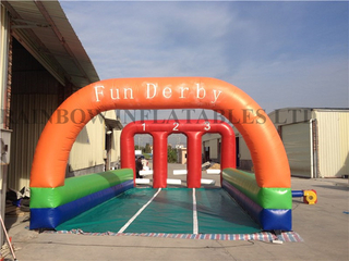 RB9124(6x10m)Inflatable horse racing track for sale