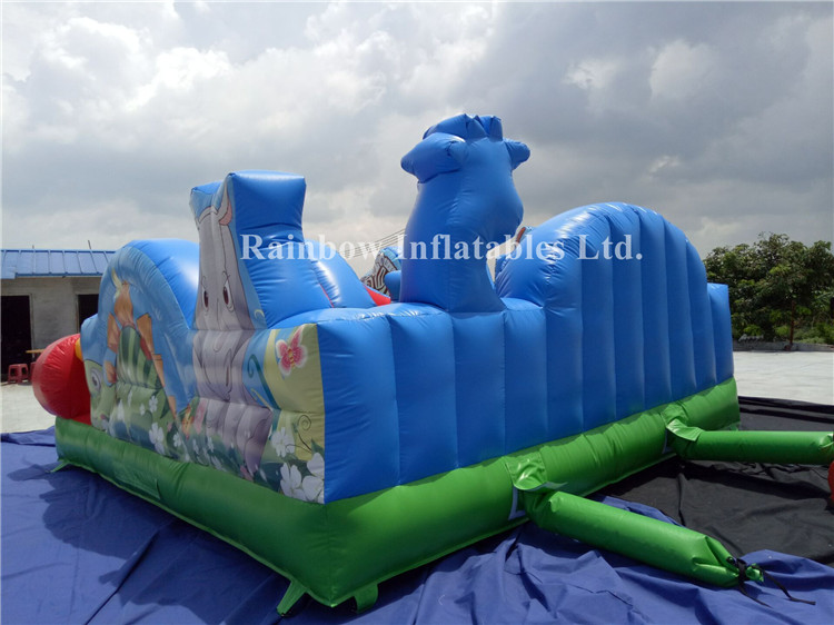 Mini Outdoor Commercial Inflatable Animal Playground for Children