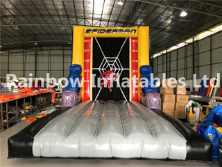 Outdoor Commercial Sport Game Inflatable Velcro Wall Sticker Wall for Kids And Adults