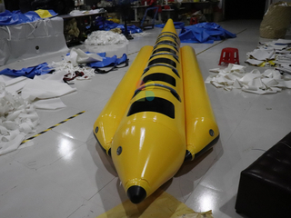 Hot Sale Summer Water Game Inflatable Banana Boat for Sale