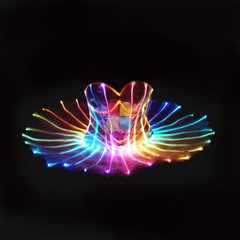 Party Dress with LED LIGHT