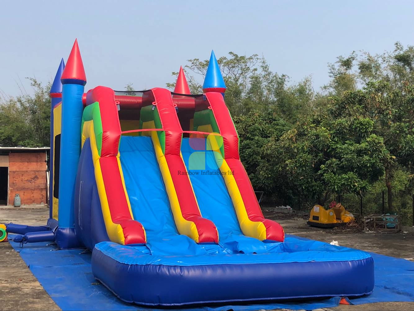 Inflatable Bounce House with Slide And Pool