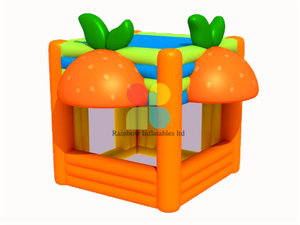 RB41043(4x4m) Inflatable Rainbow advertising tent orange juice tent
