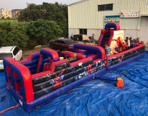 Inflatable SPIDER-MAN THEME Obstacle for Kids