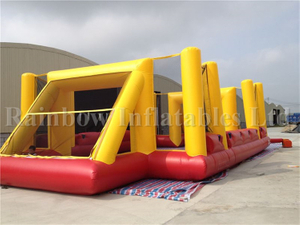 Large Outdoor Customized Inflatable Football Field Soccer Field for Adults