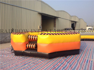RB9124-2(7x7m )Inflatable rodeo bull matress