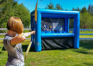 Outdoor Commercial Inflatable Archery Game for Kids And Adults