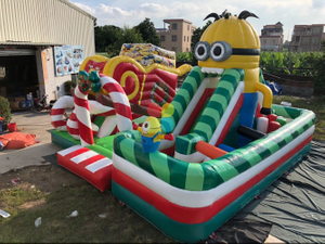 Inflatable Minions playground