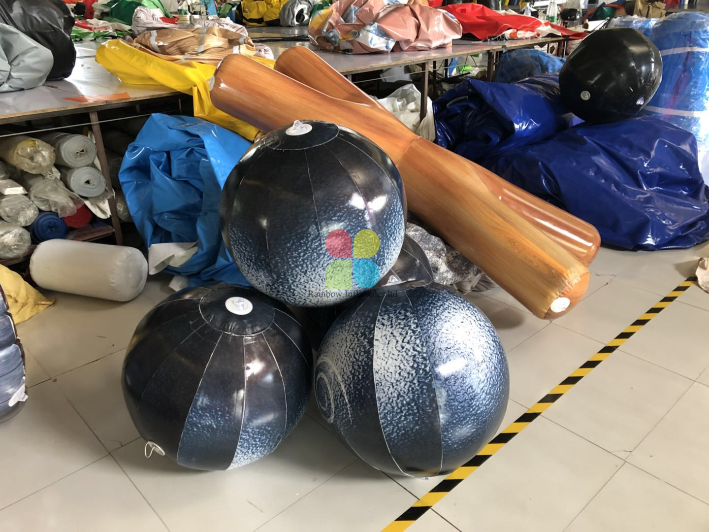 Inflatable Paintball