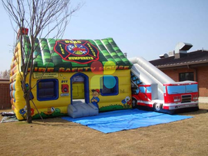 Inflatable Fire Safety House