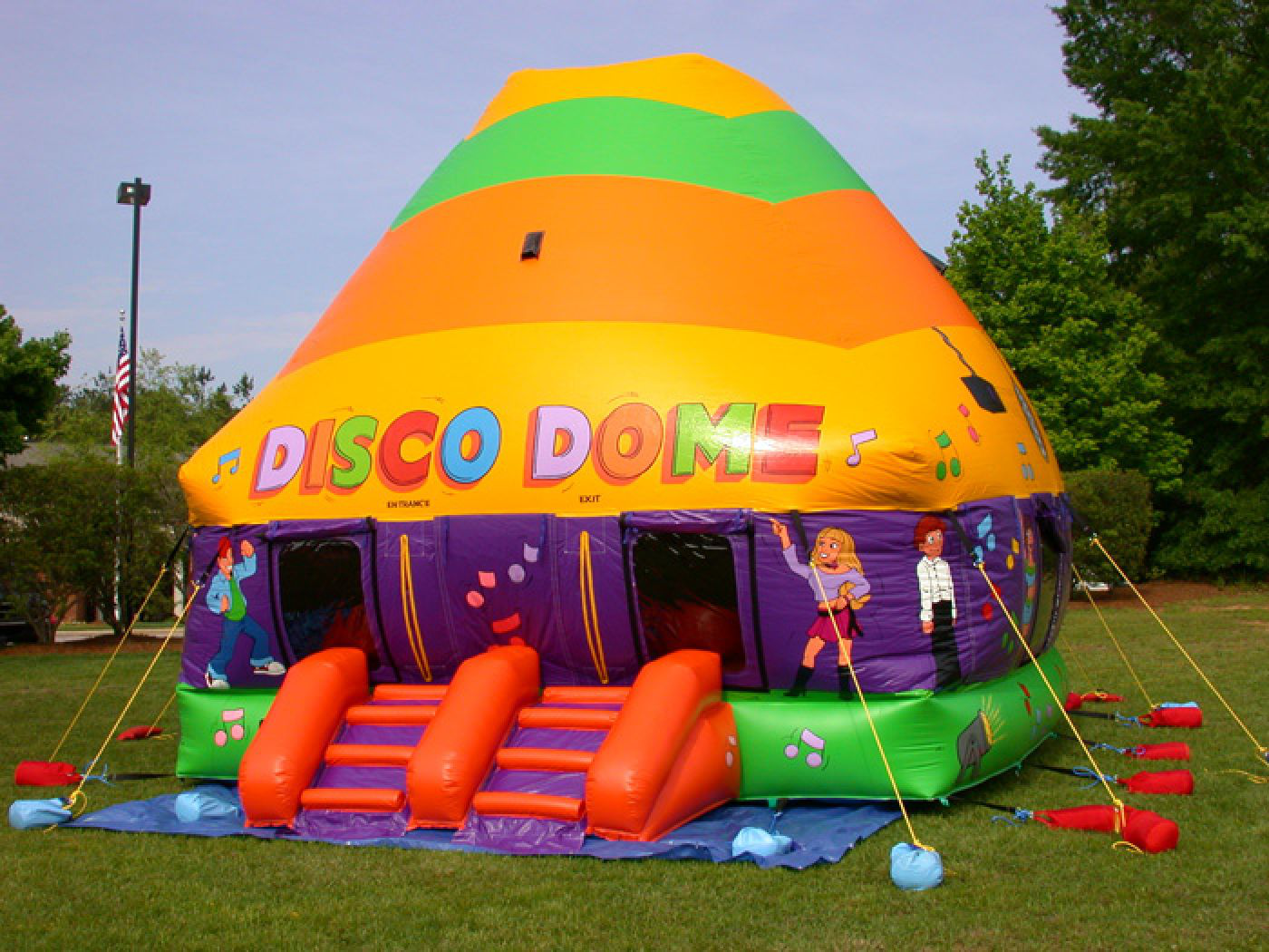 Rainbow Disco Dome Inflatables