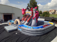 dragon slide obstacle