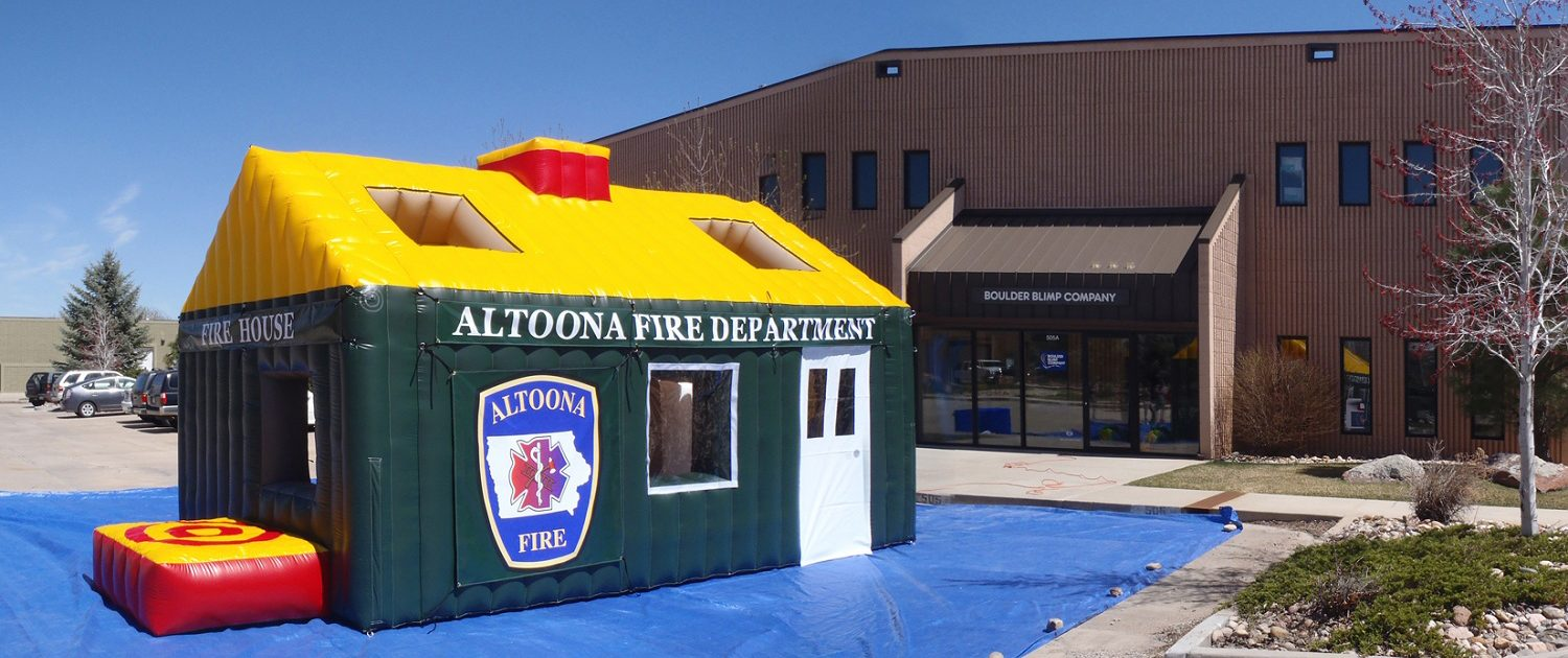 Inflatable Fire safety education house