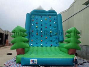 Outdoor Durable Inflatable Rock Climbing Wall Climbing Mountain for Sale