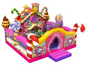 RB01050(8.5x7.5x5.5m) Inflatable Candy playground/funcity new design