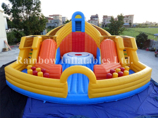 RB91018(10x10m)Inflatable climbing mountain sport game