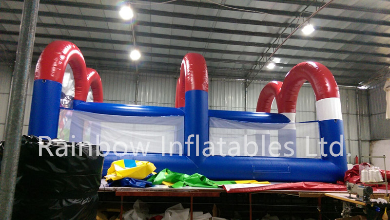 RB9093(8x5.5x3.7m)Inflatable football game/football shoot game