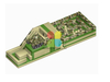 RB05212(15x4.5m) Inflatable giant tank obstacle on sale new design