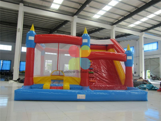 Inflatable Combo Slide with Pool