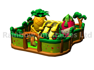 RB04130 (13x12m) Inflatable Fruit theme house playground/funcity new design