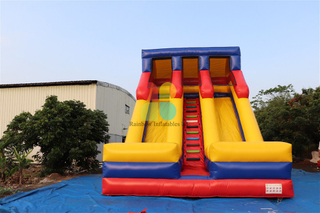 Outdoor Commercial Durable Inflatable High Slide for Adults