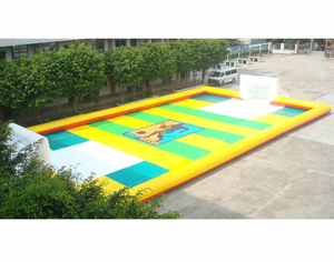 Professional Soccer Playing Field,water Soccer Game, Water Futsal Challenge, School Water Football Game