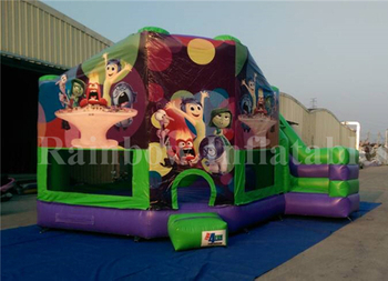Big Outdoor Bounce Round Inflatable Castle