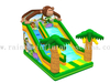 Large Outdoor Inflatable Jungle Theme High Slide for Kids