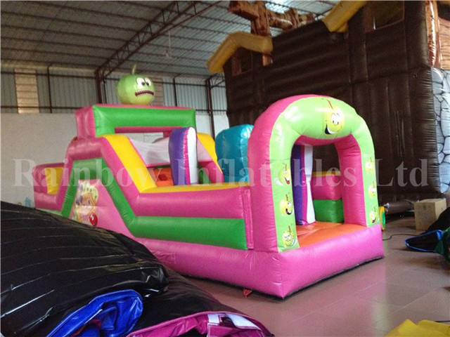 RB5033(7x2.2x3m) Inflatable Rainbow Funny obstacle course for sale