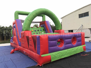 RB5042 (8x4m) Inflatable Commercial Obstacle Course/ Cheap Inflatable Obstacle Course