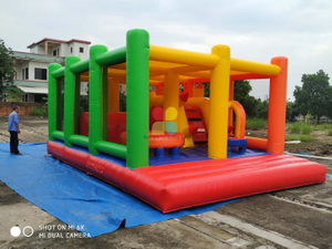 Inflatable Kids Playground Funcity