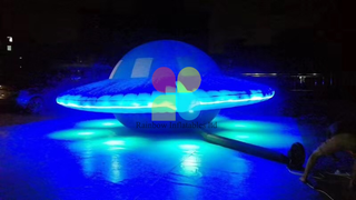 Magic Light Up Inflatable UFO