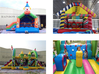 Different types of inflatable bouncers