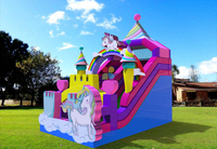 New Design Inflatable Unicorn Dry Slide