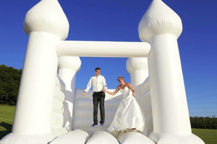 wedding bouncer inflatables castle