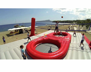 Inflatable Beach Volleyball Inflatable Sports Arena for Party Rental Business