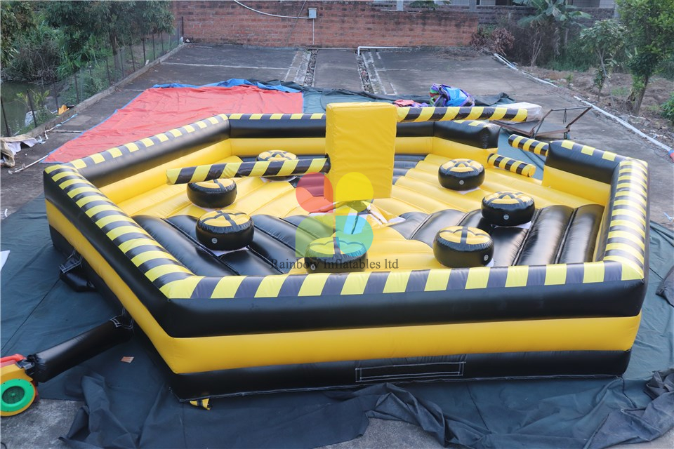 Competitive Price Amazing Inflatable Mat Mechanical Bull for Sale