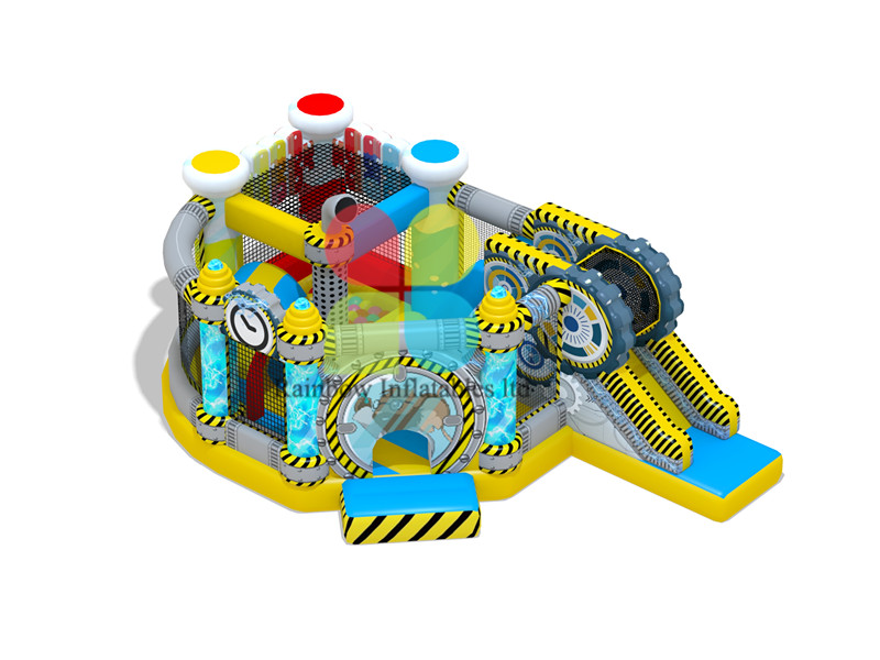 Science Theme inflatable jumping Bouncy playground