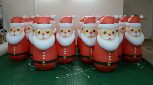 Inflatable High Quality Christmas Santa Man Inflatable Snow Man Christmas Cartoon
