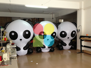 Cute Chinese Precious Animal Inflatable Panda Cartoon toys