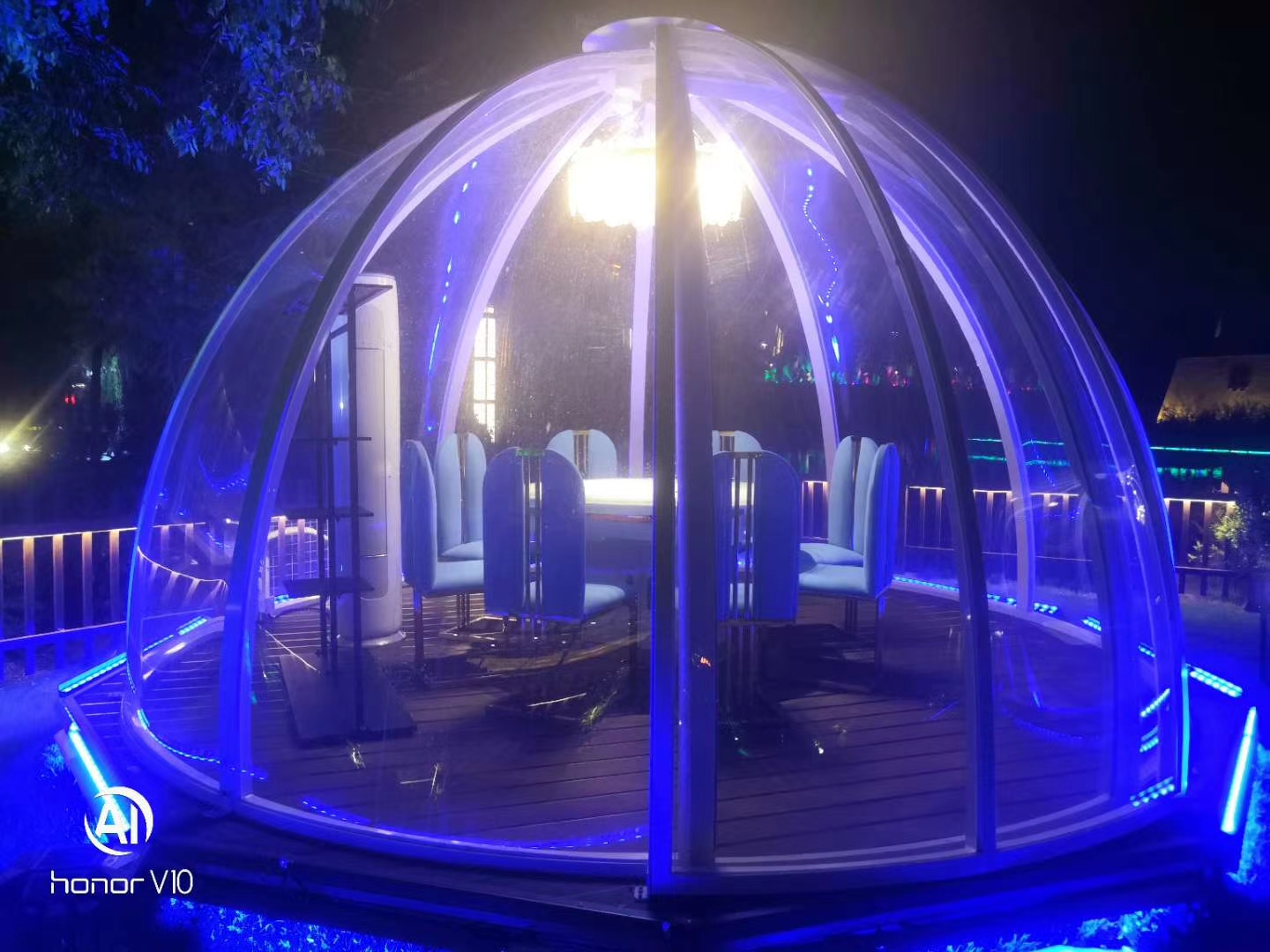 Commercial PC Spherical Tent Polycarbonate Dome Clear Dome Tent Inflatable Bubble Tent