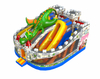 New design Jurassic World inflatable dinosaur themed playground for amusement
