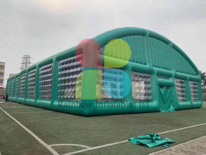Green Outdoor Beach Inflatable Party and Tennis Tent for Events
