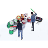 Interactive Inflatable Game IPS Inflatable Drum Kit Playsystem IPS Inflatable