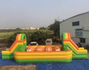 Inflatable running spor